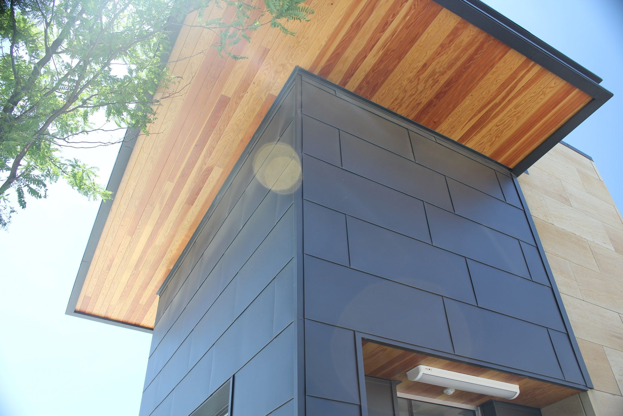 High performance metal wall panels from IMETCO.   Tin Ridge ...