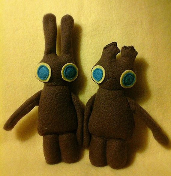 Chocolate Easter Bunny FooFoo Set by ConcoctedCurios on Etsy