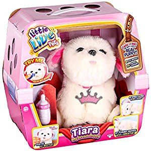 Amazon Com Little Live Pets Tiara Girl Dog My Dream Puppy Playset Toys Games Little Live Pets Girl And Dog Christmas Toys