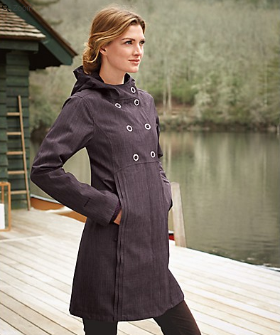 Womens Trench Rain Coat