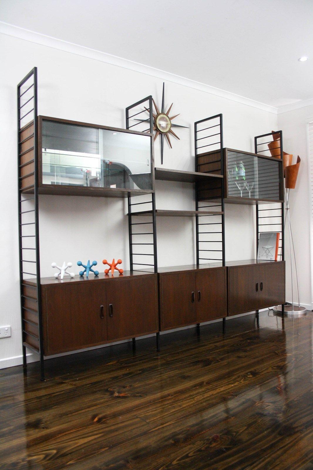 MID Century Room Divider Wall Unit Desk System Retro Vintage Sideboard Ladderax Cado Style, VIC | eBay 360 Modern