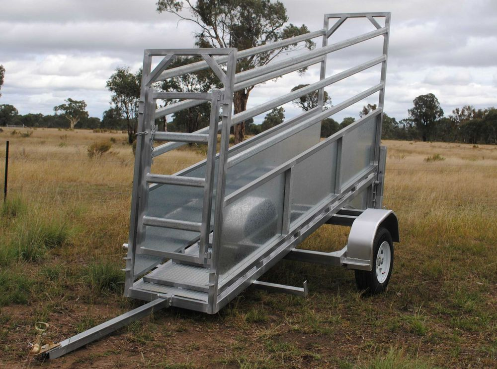 Plans Portable Cattle Yards And Mobile Adjustable Cattle