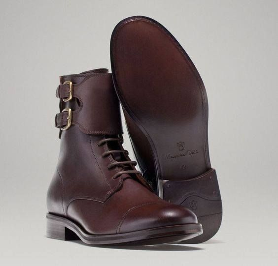 Pin By Slawomir Pogoda On Shoes Buty Buckle Boots Men Buckle Boots Boots