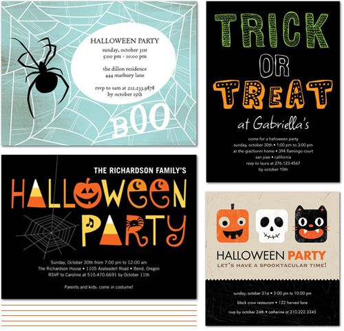 From The Shop Friday Cute Halloween Party Invites Paper Crave Halloween Party Invitations Halloween Party Halloween Party Favors