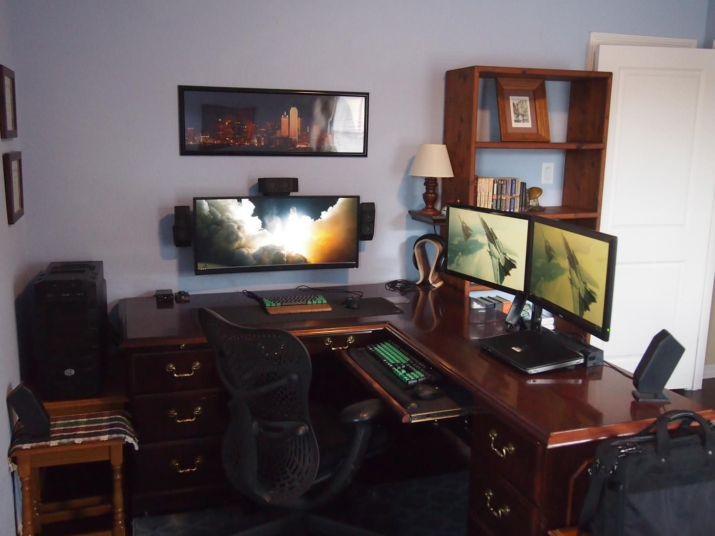 ultimate home office. Wife And I Purchased Our First Home. She Let Me Build My Ultimate Home Office F