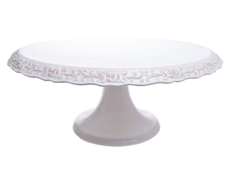 Patera Na Ciasto Tort Ceramiczna Biala Porcelanowa 7100522118 Oficjalne Archiwum Allegro Cake Stand Cake