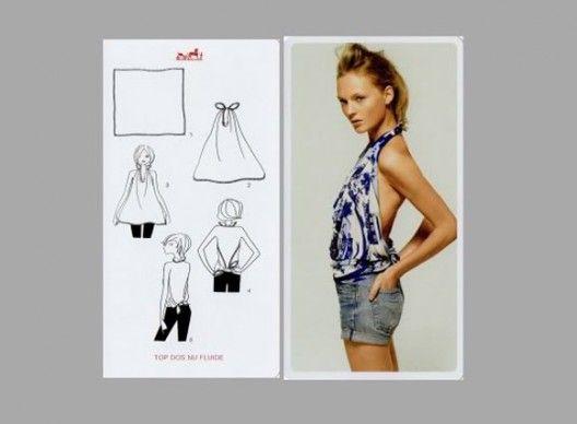b5f16d287c9c cool if you can pull it off! 20 façons de porter son carré Hermès ...