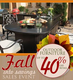 Fall Into Savings Outdoor Furniture Sales Event Going On Now At Your Local  Sabine Pools,