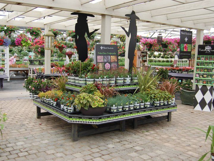 Hc Benches At Cherry Valley Nursery Mi