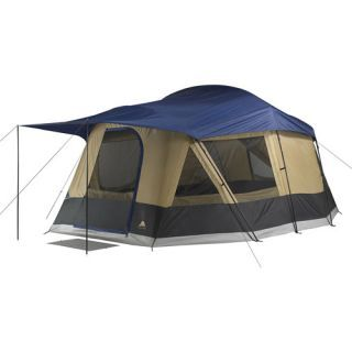 Ozark Trail Tent 10 Person Cabin Tent  sc 1 st  Pinterest & Ozark Trail Tent 10 Person Cabin Tent | Family Camping Tents ...