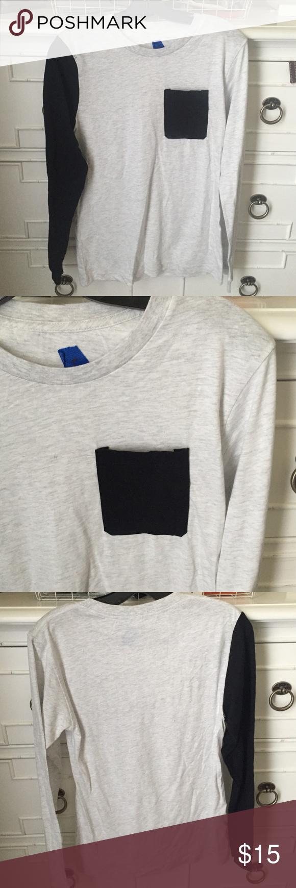 Self made long sleeve shirt New Tops Tees - Long Sleeve