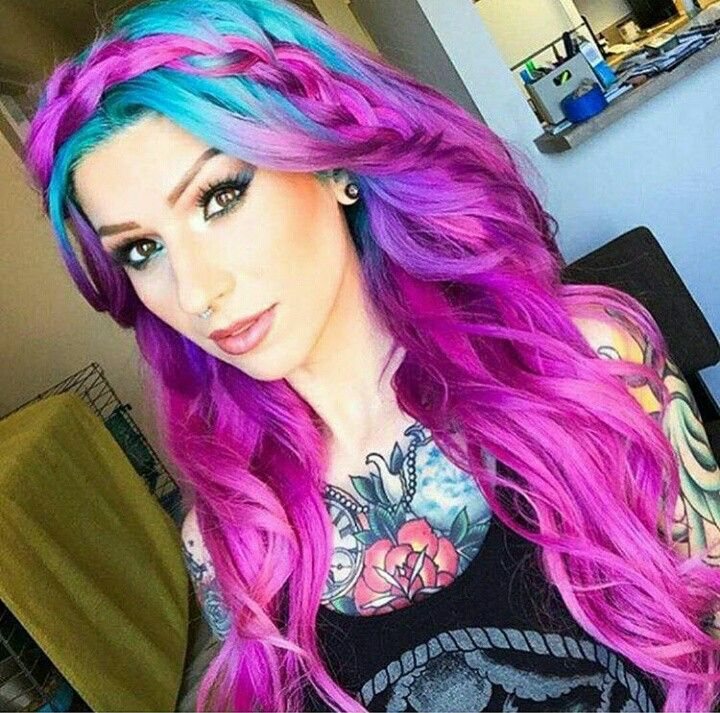 Colorful Hair Hair Pinterest Colourful Hair Hair Coloring And