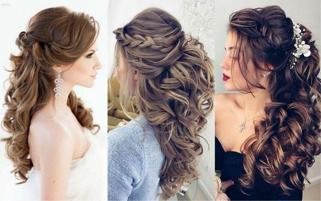 140 Peinados Para Fiesta Que Son Faciles Hermosos Y Elegantes Pelo Corto Largo O Recogido Peinado Semirecogido Con Trenzas Peinados Peinados Elegantes