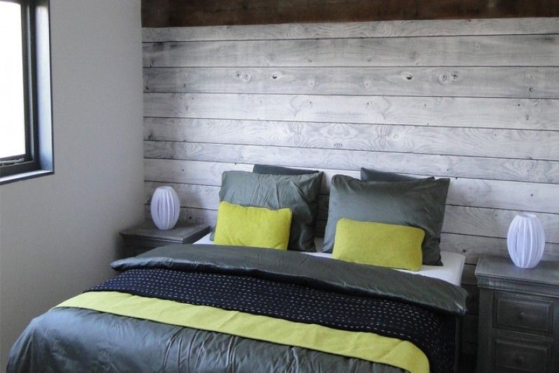 Dordogne barn conversion using larch wood for #Scandinavianstyle bedrooms. #barnconversion , France.