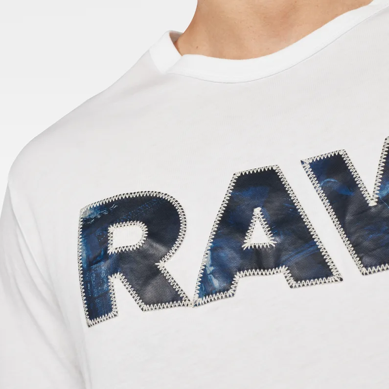 Rijks Graphic 5 T Shirt White G Star Raw In 2021 G Star G Star Raw T Shirts For Women