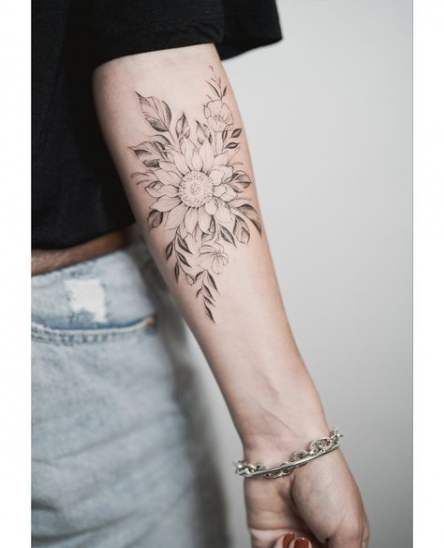 Photo of Tattoo Sunflower Forearm Tat 24 New Ideas