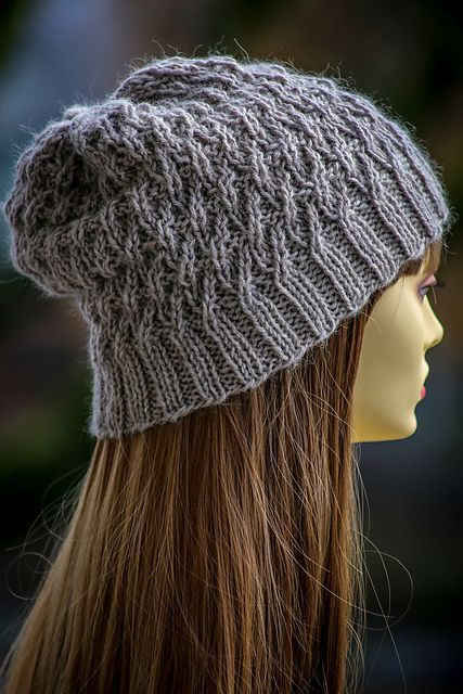 Ravelry River Rush Slouch Hat Pattern By Gretchen Tracy Craft