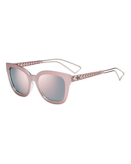 301bd3c86925 DIOR Diorama Caged Mirrored Sunglasses