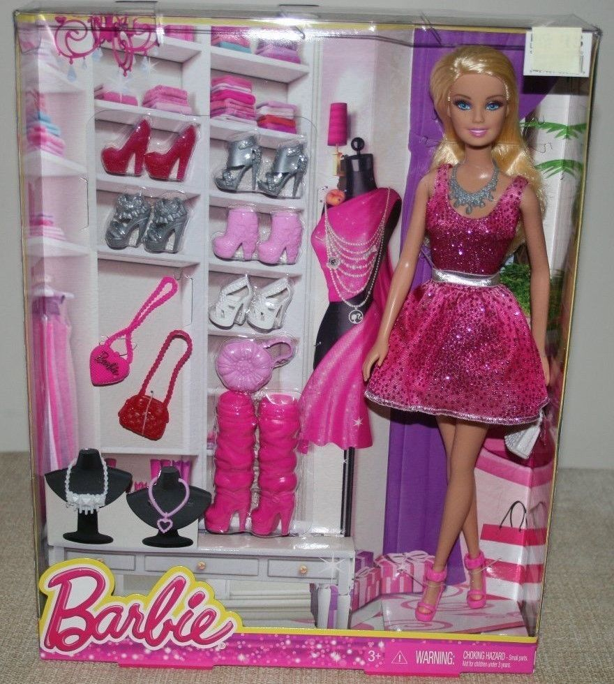 Barbie Doll With Lots Of Accessories Life In The