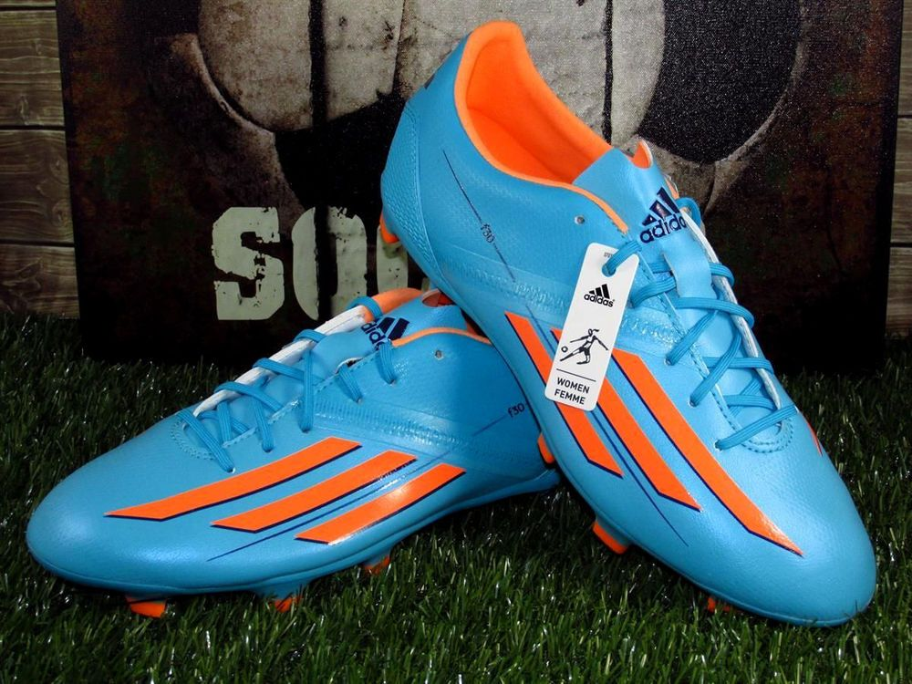 18766a49ccc ... where to buy adidas f30 trx fg soccer cleats womens sizes 7.5 9 blue  melon m22252