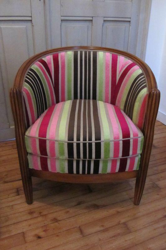 retapisser un fauteuil tapissier brest canapes. Black Bedroom Furniture Sets. Home Design Ideas
