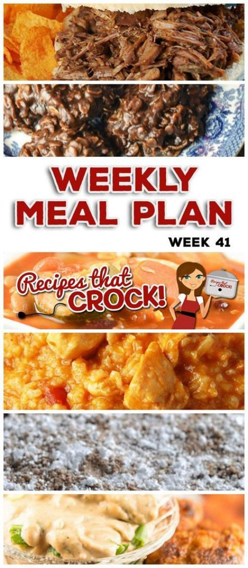 This week's weekly menu features Crock Pot BBQ Steak Sandwiches Cheesy Salsa Crock Pot Chicken Rice Crock Pot All-Day Veggie Soup Crock Pot Honey BBQ Chicken Wings Crock Pot Saucy Potatoes Crock Pot Cheesy Lasagna Crock Pot Blueberry Coffee Cake Crock Pot Creamy BBQ Ranch Dip and Crock Pot No Bake Cookies. #paleocrockpot #crockpotlasagna