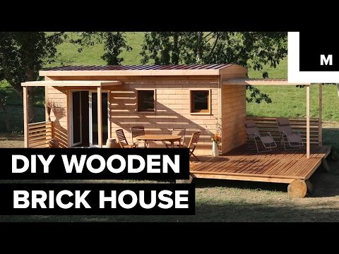 Superior These Wooden Bricks Let You Build A House Without A Single Nail Or Screw    YouTube