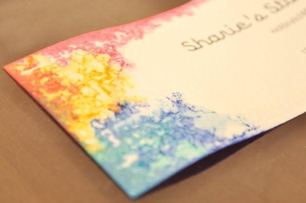 mientras brilla el sol: las tarjetas de acuarela