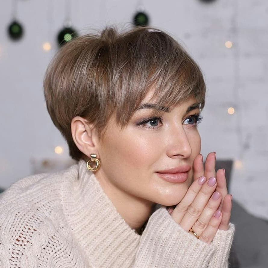40 Beautiful Short Hairstyles for January 2021 - I