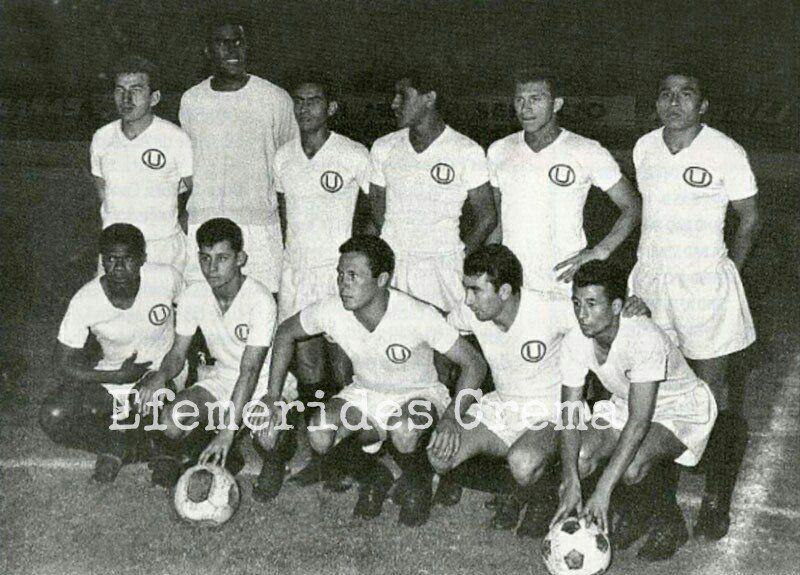 12/02/66 @Universitario empata 0-0 ante Deportivo Lara (Venezuela) en condición de visita en partido jugado por la Copa Libertadores...