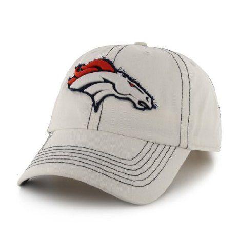 Amazon.com: NFL Denver Broncos Men's Ketch Cap, One Size, White: Sports & Outdoors