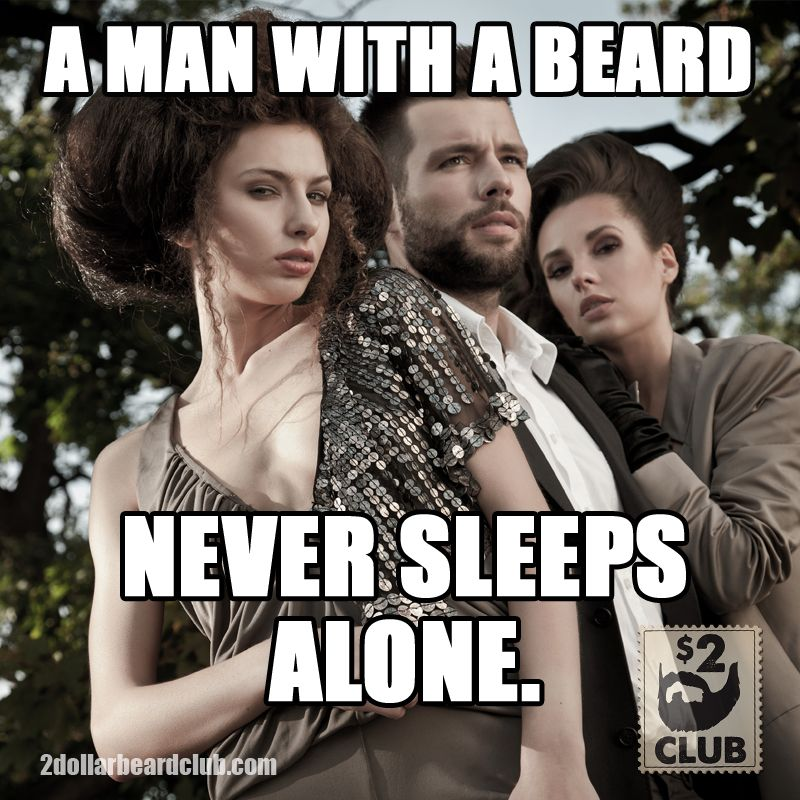 Never sleep alone again. Join now and have beard oil