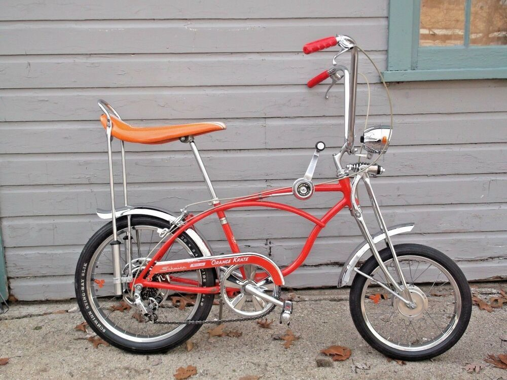 79c07106bb3 1969 Schwinn Orange Krate Sting-Ray Bicycle 5 Speed Bike | Stingray ...