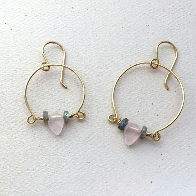 5 DIY Jewelry Projects with Handmade Wire Hoops | Handmade wire and ...