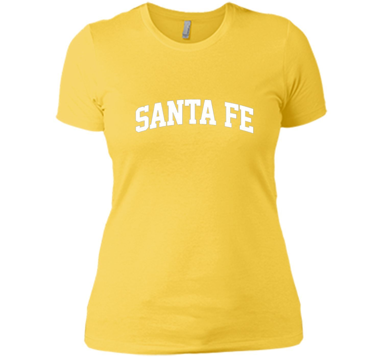 Santa Fe Athletic Curved Text T-Shirt