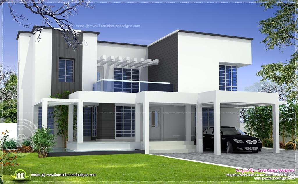 Vastu Based Box Type Modern Home Design House Design Plans Page 2