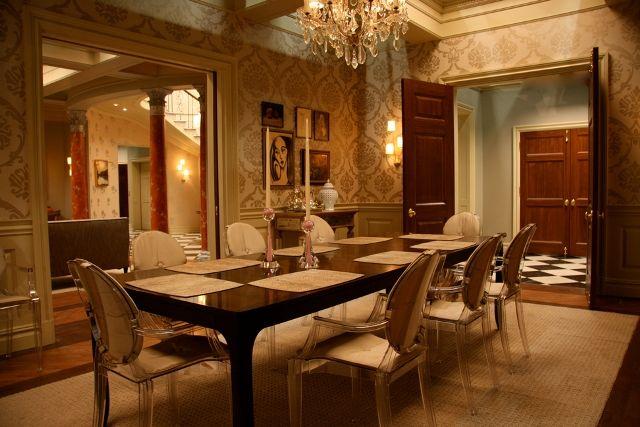 Waldorf penthouse Gossip girl decor, Dining room decor