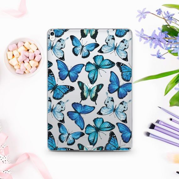Butterfly iPad Air 3 Case iPad Pro 12.9 2018 Case iPad Cover 11 Transp