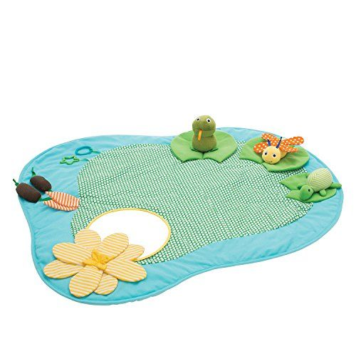 Manhattan Toy 213400 Playtime Pond Playmat Baby Toy >>> More info could be found at the image url.Note:It is affiliate link to Amazon.