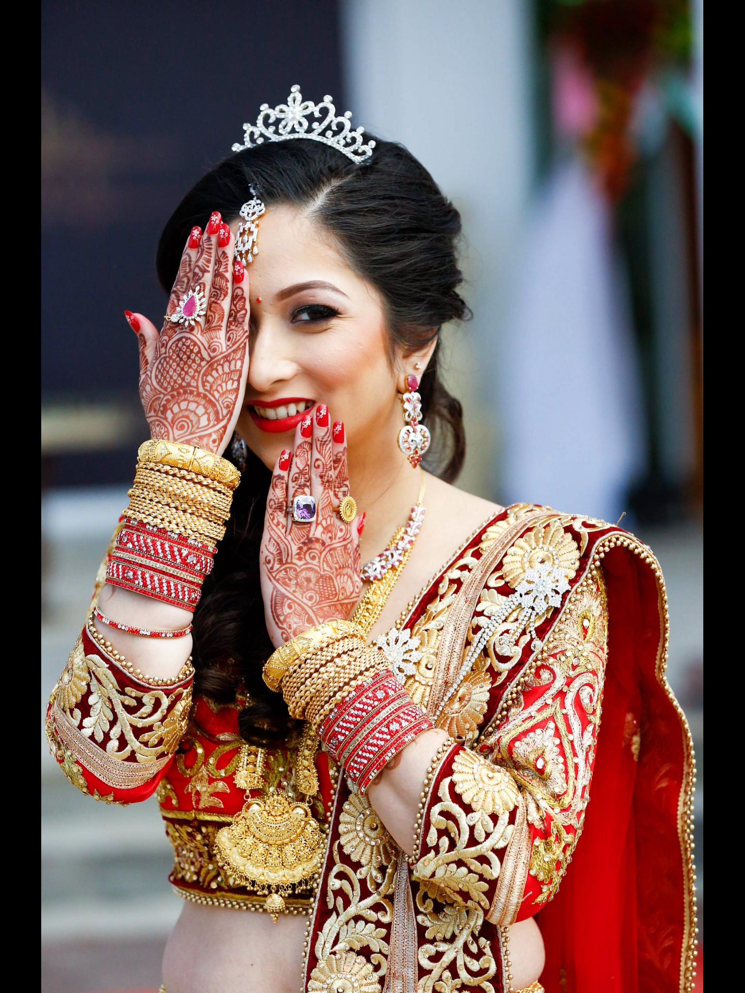 Beautiful Nepali bride