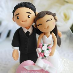 Fondant Wedding Toppers Google Search