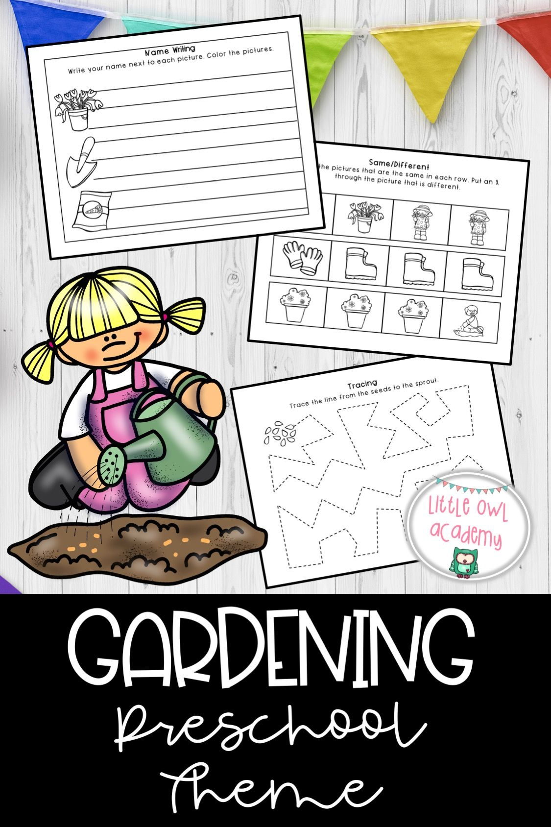 Gardening Preschool Theme In