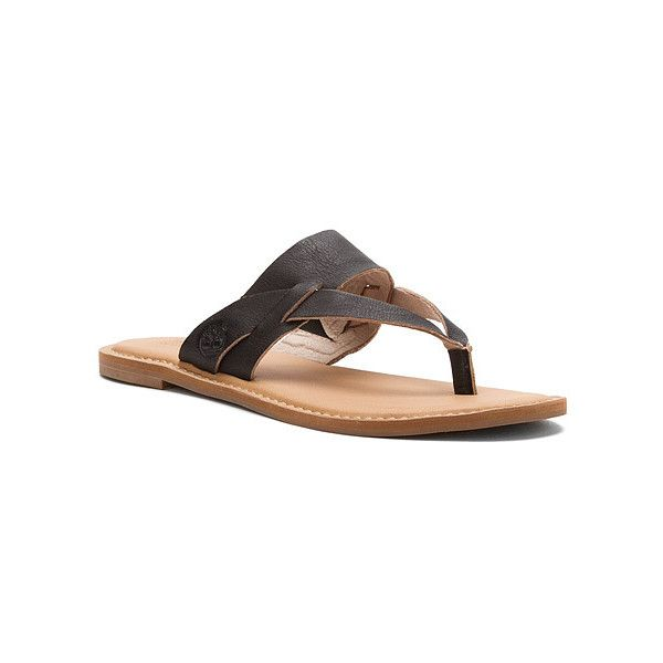2a47fe71cd2e Timberland Earthkeepers Sheafe Thong Low Thong Sandals ( 80) ❤ liked on  Polyvore
