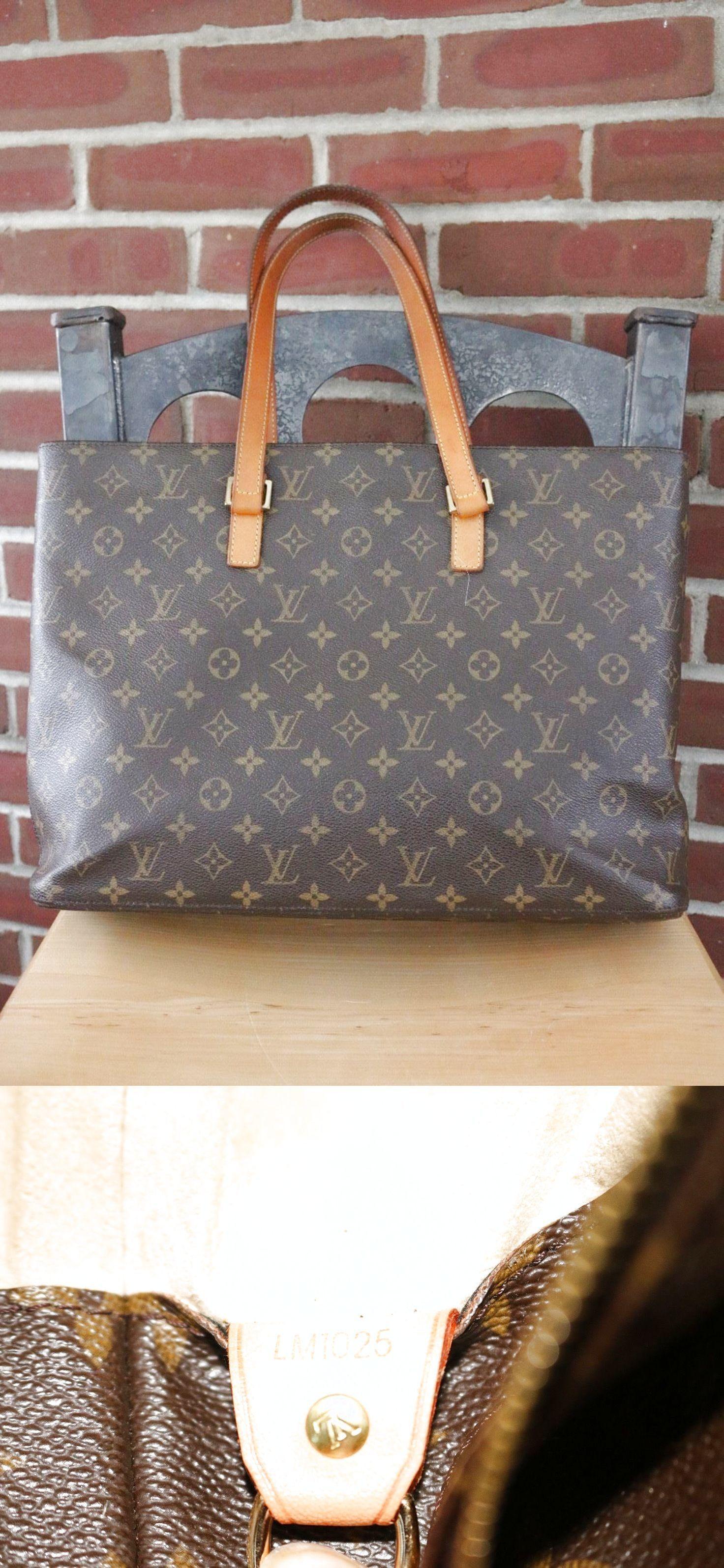 91e5ea2693b3 Authentic Louis Vuitton Monogram Luco Tote Bag  450.0