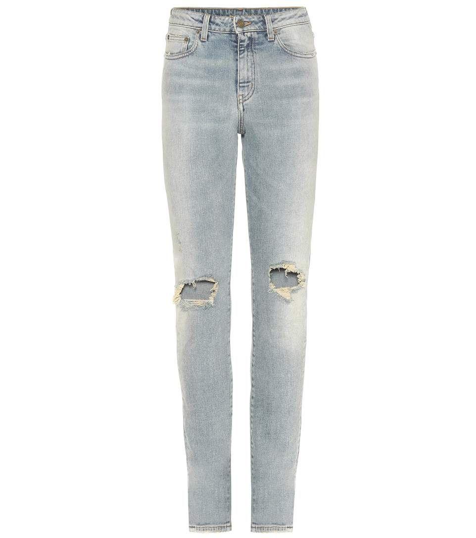 SAINT LAURENT Skinny Jeans. #saintlaurent #cloth #jeans