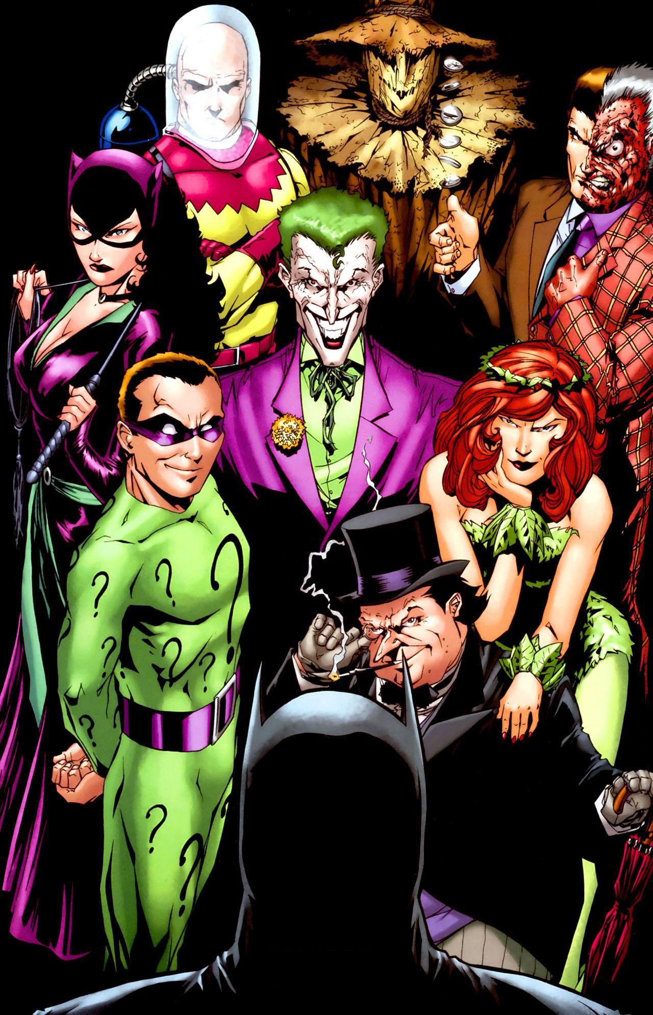 Batman Villains Villanos De Batman Batman Villains Batman