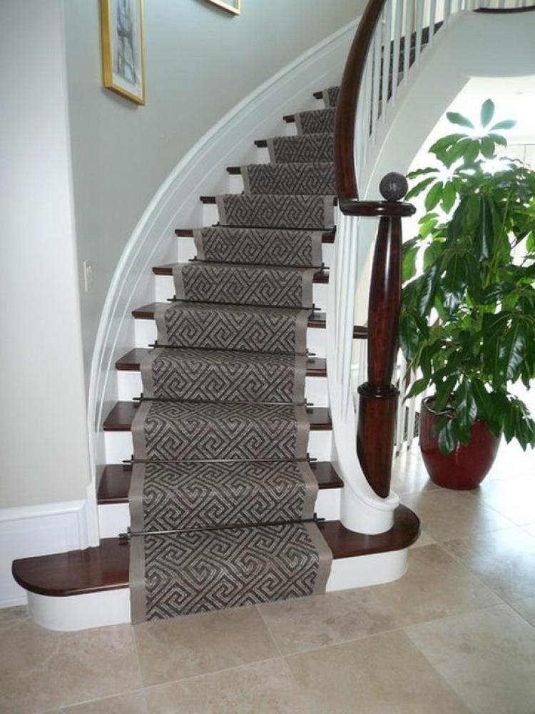 Luxury Stair Runner Design Ideas For Your Classy Home Stair Runner Carpet Modern Staircase Stair Runner