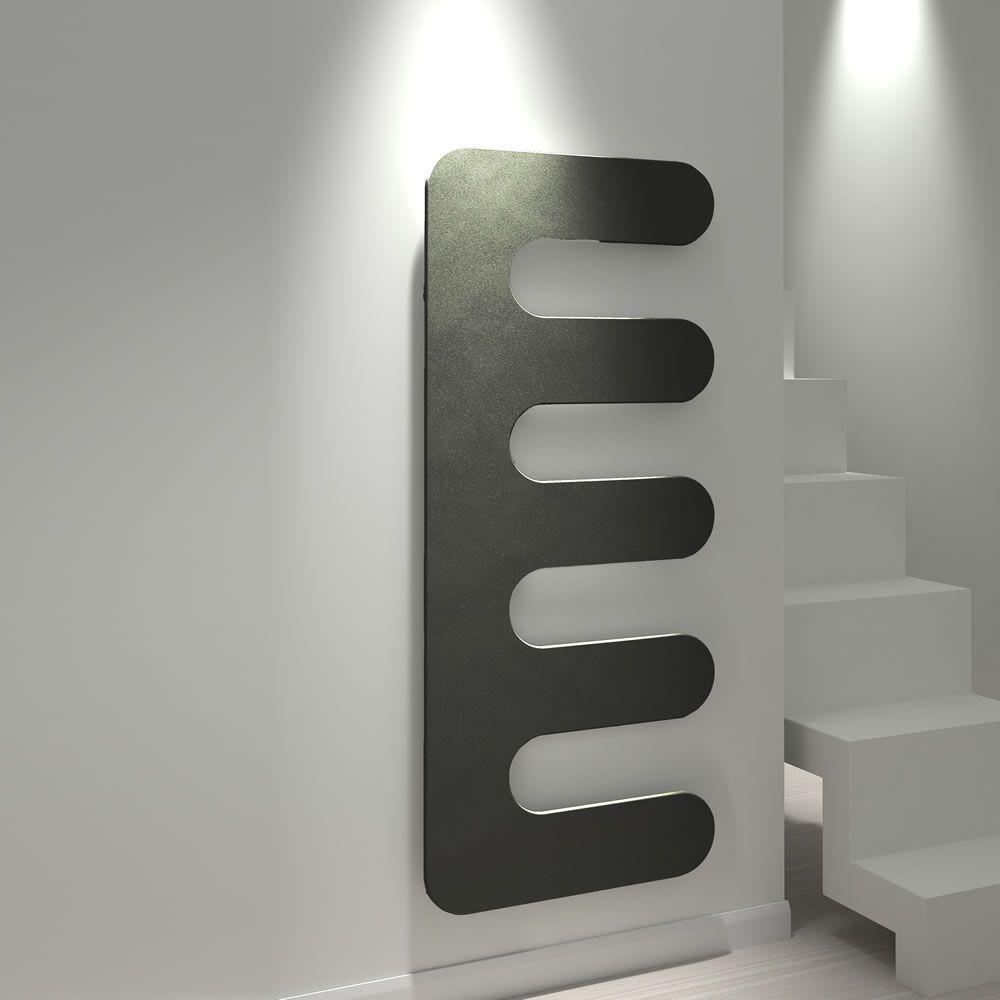 Kudox Matrix Comb radiator in black