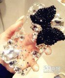 seven17color® 3D Crystal iPhone Case for ATT Verizon Sprint iPhone 5 Bling Black Bow