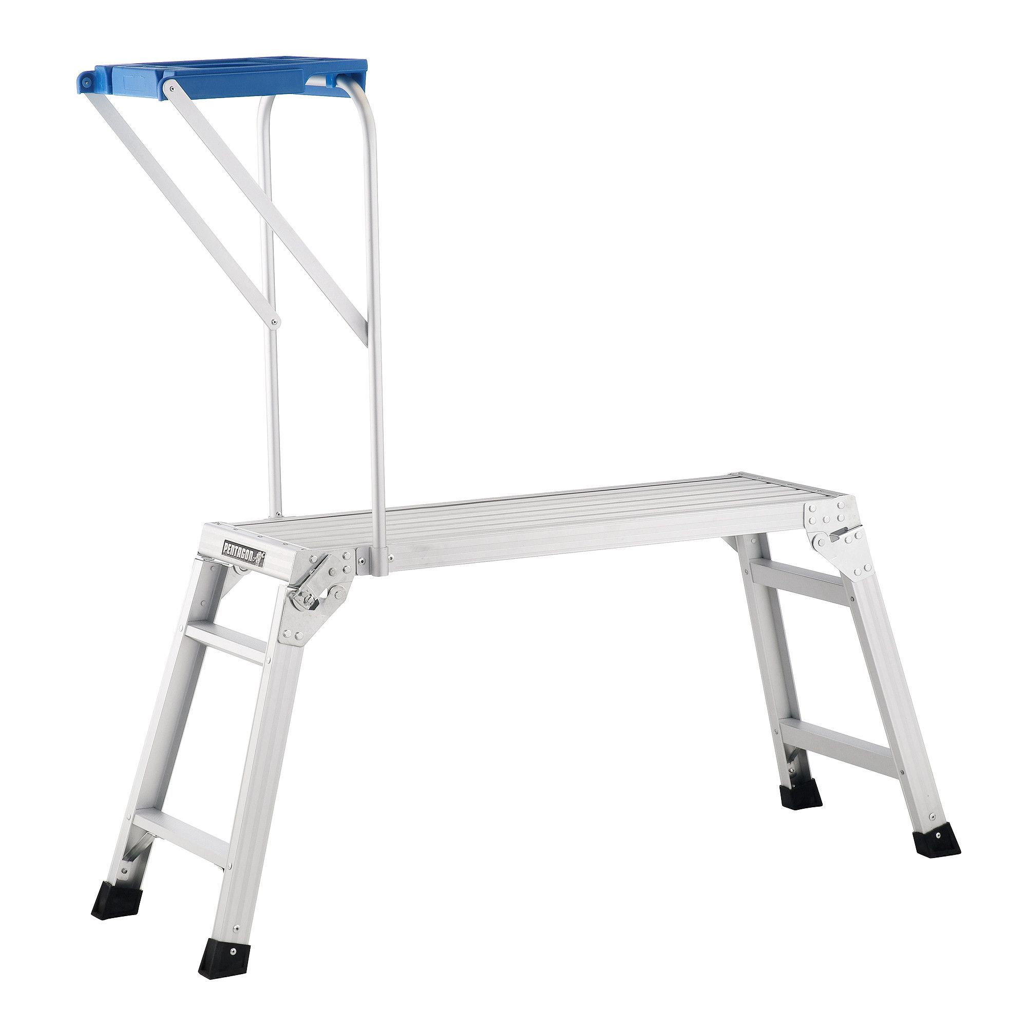 Pentagon tool professional aluminum drywall bench with